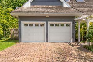 a two car garage